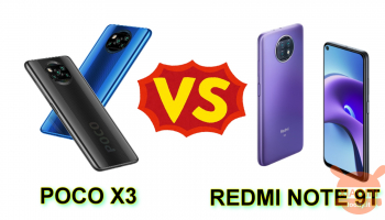 POCO X3 NFC против Redmi Note 9T 5G: какой выбрать между двумя?