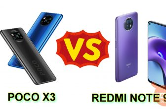 POCO X3 NFC vs Redmi Note 9T 5G: which one to choose between the two?