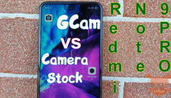 GCam on Redmi Note 9 Pro: here's how to install it and comparison with stock camera