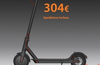 Discount Code - Xiaomi M365 Electric Scooter with 304 € shipping included