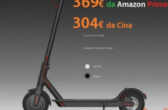 Discount Code - Xiaomi Electric Scooter M365 to 304 € and to 369 € from Amazon Prime