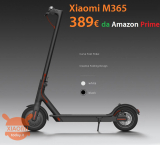 Offer - Xiaomi M365 Electric Scooter to 389 € Warranty and Shipping 24h Amazon Prime