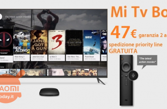 Oferta - Xiaomi Mi TV Box 4K International 2 / 8Gb solo 47 € 2 garantía de años en Europa