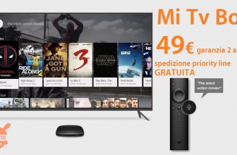 Offer - Xiaomi Mi TV Box 4K International 2 / 8Gb only 49 € 2 guarantee years Europe