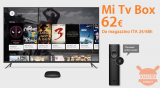 Discount Code - Xiaomi Mi TV Box S 4K International HDR Chromecast a 62 € from stock Italy shipping 24h FREE