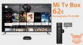 Offer - Xiaomi Mi TV Box S 4K HDR international Chromecast to 62 € from stock Italy shipping 24h FREE