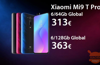 Discount Code - Xiaomi Mi 9T Pro Global All 6 / 64Gb colors from 313 € and 6 / 128Gb Global to 363 €