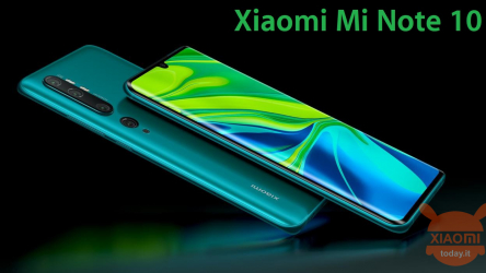 Offerta – Xiaomi Mi Note 10 Global 6/128Gb a 399€ da Amazon Prime e Mi Note 10 Pro 8/256Gb a 481€