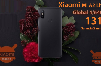 Code de réduction - Xiaomi Mi A2 / A2 Lite 4 / 64Gb à 131 € garantie Europe 2 et expédition prioritaire inclus