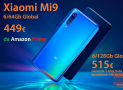 Codice Sconto – Xiaomi Mi9 Global 6/64Gb a 449€ su Amazon e 6/128Gb a 499€ da Cina