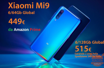 Rabattcode - Xiaomi Mi9 Global 6 / 64Gb bei 449 € bei Amazon und 6 / 128Gb bei 499 € aus China