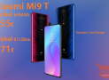 Discount Code - Xiaomi Mi9 T Global 6 / 128Gb at 271 € and 6 / 64Gb at 255 € warranty 2 years Europe priority shipment Included