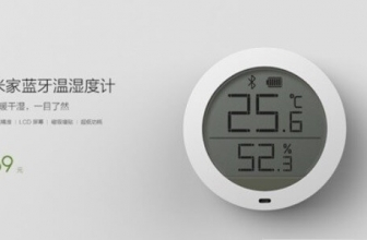 In the era of ItaT Xiaomi presents Mijia Bluetooth Hygrothermograph