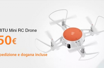 Discount Code - Xiaomi MITU Mini RC Drone to 50 € shipping and customs included!