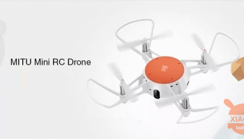 Discount Code - Xiaomi MITU Mini RC Drone at 39 €