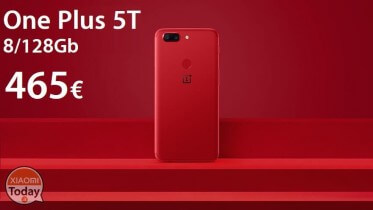 Discount Code - One Plus 5T Red / Black 8 / 128Gb to 465 €