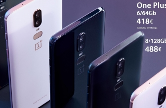 Discount Code - OnePlus 6 6 / 64 Gb to 418 € and 8 / 128Gb to 488 € 2 warranty for Europe years with Italy Express shipping included!