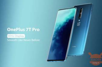 할인 코드-OnePlus 7T Pro Global 8 / 256Gb Blue at 490 € 1 년 공식 보증