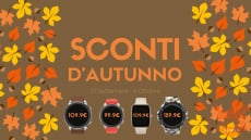 Autumn sale on Amazfit Italia - GTS at 109 € and GTR at 99 €