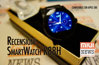Review of the K88H the smartwatch that also speaks with Apple Siri