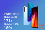 Codul reducerii - Redmi Note 8 Global 4 / 64Gb la 171 € și 4 / 128Gb la 189 € garanție 2 ani Transport prioritar UE Inclus
