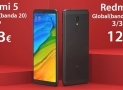 Code de réduction - Xiaomi Redmi 5 Noir 2 / 16Gb version globale (bande 20) à 103 € et 3 / 32Gb uniquement 121 € Italie Express Inclus