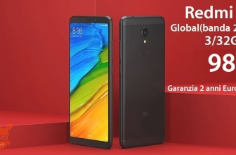 Discount Code - Xiaomi Redmi 5 gold 3 / 32Gb to 98 € guarantee 2 years Europe Italy Express Included