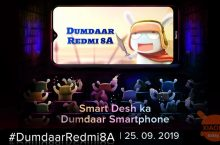 Redmi 8A wordt gepresenteerd in India op september 25