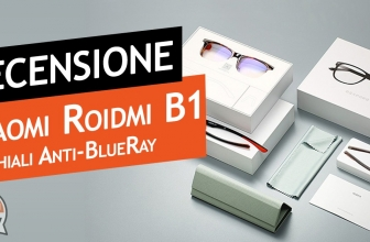 Review Xiaomi Roidmi B1 blue light blue glasses