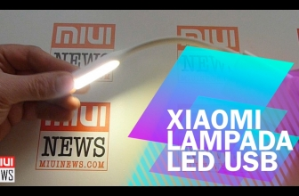 [Review] Xiaomi Led Lampe USB