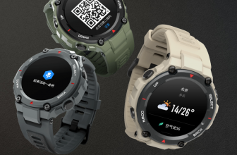 Amazfit T-Rex: prices and specifications of the super resistant military rugged