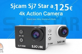 Codice Sconto – SJCAM SJ7 STAR WiFi Action Camera 4K BLACK a soli 125€