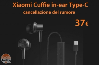 Codice Sconto – Xiaomi Noise Cancellation In-ear Earphones Type-C a 37€!