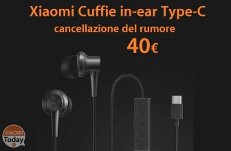 Offerta – Xiaomi Noise Cancellation In-ear Earphones Type-C a 40€ con spedizione Italy Express 1€!