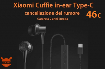 Offer - Xiaomi Noise Cancellation In-ear Earphones Type-C to 46 € 2 years warranty Europe and with Italy Express 1 €!