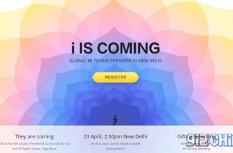 Xiaomi Event 23 April: Launch of a Global Product