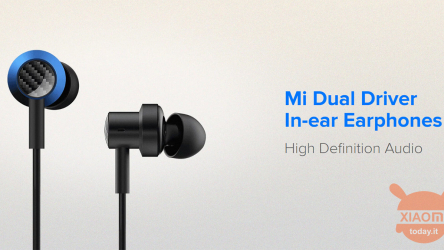 Xiaomi Mi Dual Driver are the new in-ear inexpensive earphones with 3.5mm jack