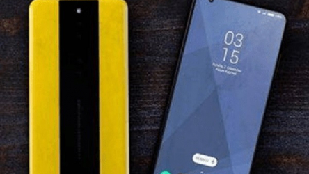 POCO F2: CPU and Android version details emerge in this new photo