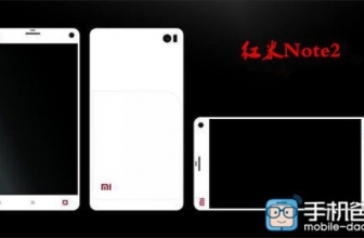 Xiaomi H3Y aka Redmi Notes 2: Here is a first render