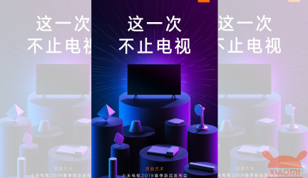 Xiaomi: In addition to TV several new products coming tomorrow