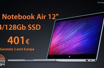 """Discount Code - Xiaomi Air 12.5 """"4 Laptop / 128Gb Silver to 401 € 2 years warranty Europe and priority line shipping included"""