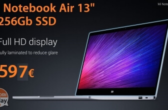 "Discount Code - Xiaomi Air 13 Laptop ""8 / 256Gb SSD ONLY 597 €"