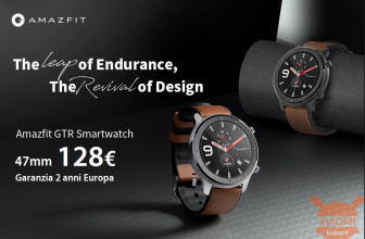 Code de réduction - Montre intelligente internationale Amazfit GTR 47mm à 128 € et 42mm à 119 € Garantie 2 années Expédition prioritaire en Europe Inclus