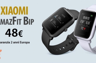 Discount Code - Xiaomi AMAZFIT BIP to 48 € 2 years warranty Europe and Italy Express 2 €!