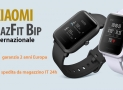 Discount Code- Xiaomi AMAZFIT BIP to 54 € Shipping 24h from Italy FREE from China only 51 € with 2 years of warranty Europe!