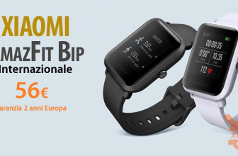 Offre - Xiaomi AMAZFIT International BIP à 56 € Garantie 2 en Europe