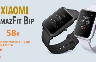 Offer - Xiaomi AMAZFIT BIP to 58 € Shipping BRT from Italian stock in 24h