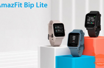 Discount Code - Amazfit Bip Lite at 40 € from China and 50 € from Amazon prime