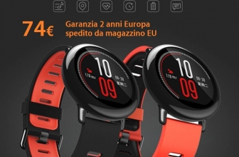 Discount Code - Xiaomi AmazFit Black English to 74 € with 2 years of warranty Europe shipped from stock EU