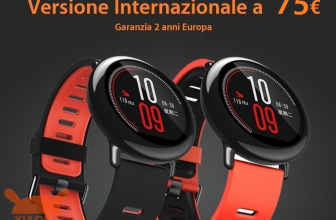 Offer - Xiaomi AmazFit International to ONLY 75 € guarantee 2 years Europe